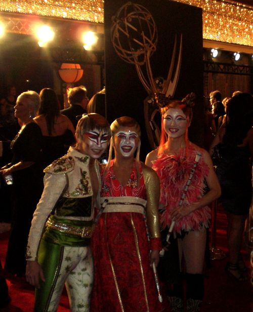 Cast Members from Cirque du Soleil - KA!  sc 1 st  Typepad & 2010 Emmys: Cast Members from Cirque du Soleil - KA!